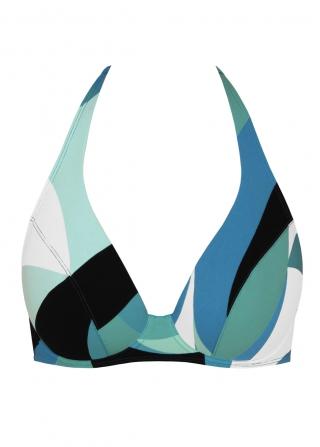 soutien gorge tour de cou maillot de bain empreinte arty. Black Bedroom Furniture Sets. Home Design Ideas