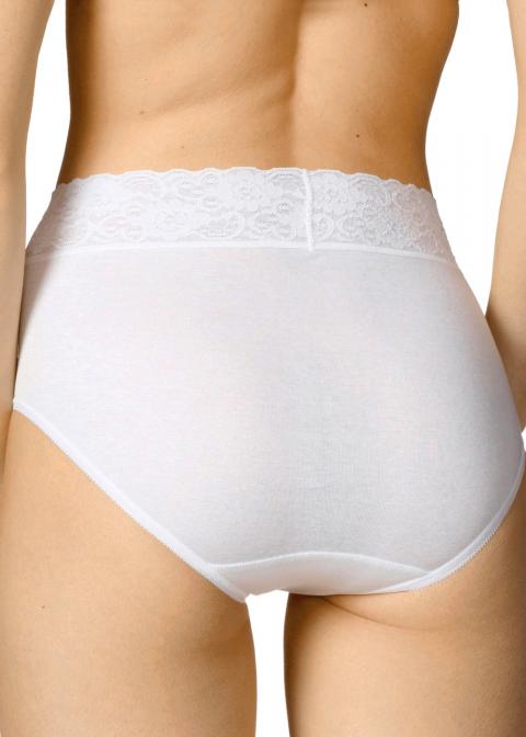Slip Taille Haute Calida Blanc