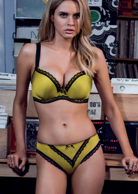 Soutien-gorge Plunge Freya Chartreuse