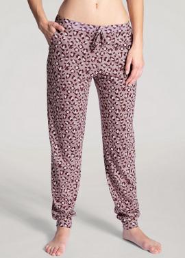 Pantalon avec bords élastiques