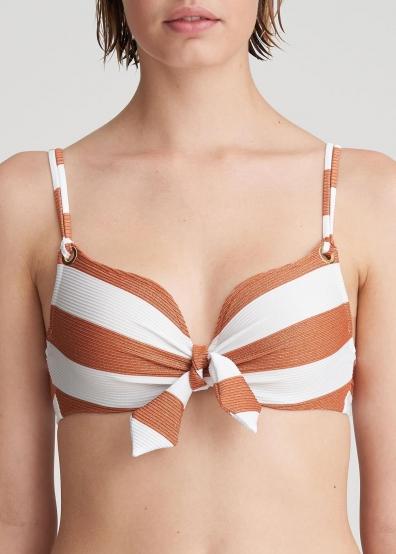 Bikini forme coeur rembourré Maillots de bain Marie Jo Swim