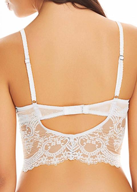Soutien-gorge Armatures Forme Bustier Wacoal White