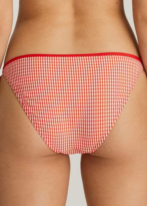 Slip Taille Basse Maillots de Bain Prima Donna Swim Poivre Rouge