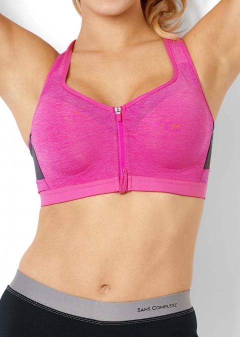 Soutien-gorge de Sport à Coques avec Armatures Sans Complexe Sport Fuchsia Purple
