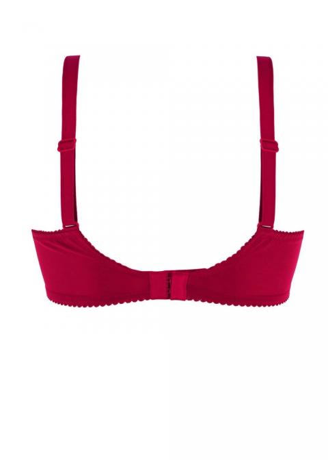 Soutien-gorge Armatures Corbeille Bonnets Profonds  Eprise de Lise Charmel Rouge Aphrodite
