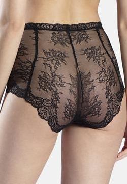 Culotte Taille Haute Aubade Noir