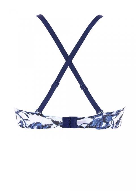 Soutien-gorge Bandeau Coque  Antigel de Lise Charmel Bleu Fugue