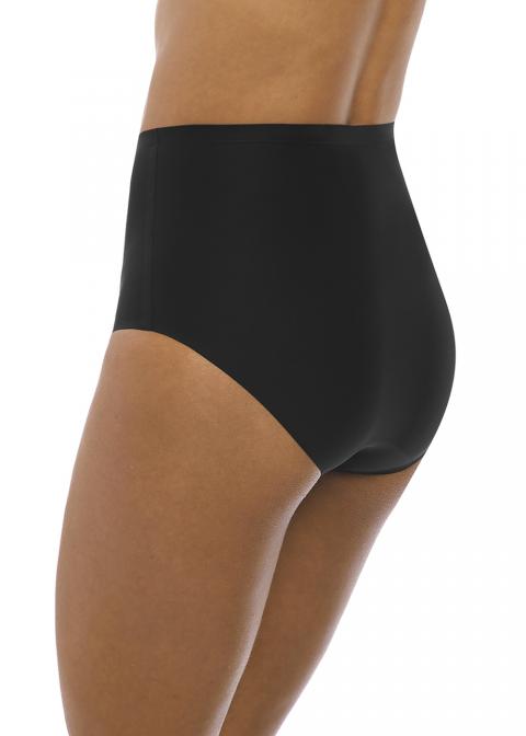 Slip Taille Haute Invisible Fantasie Black
