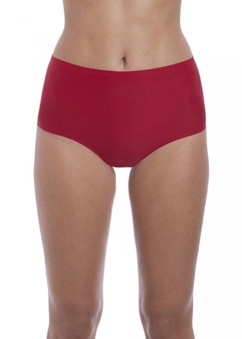 Slip Taille Haute Invisible Fantasie Red