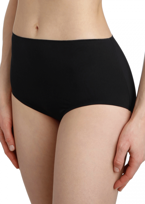 Slip Taille Haute Marie-Jo Noir