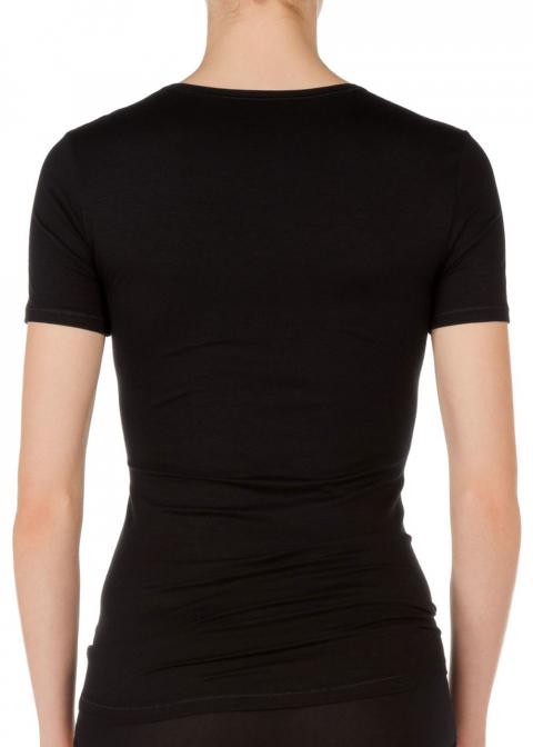 Tee-shirt Manches Courtes Calida Noir