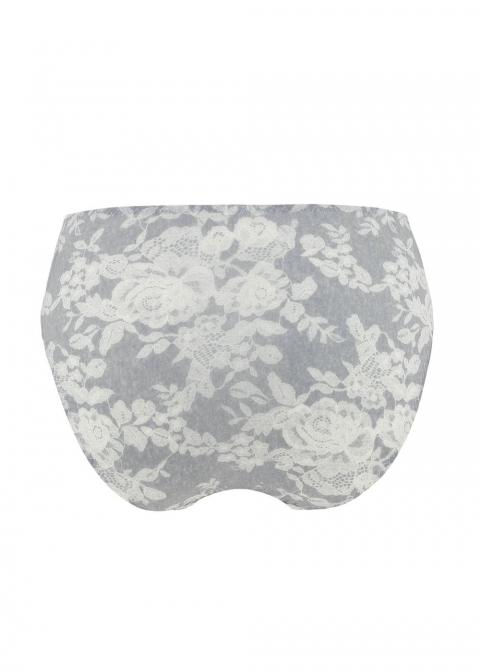 Slip Taille Haute Antigel de Lise Charmel Chiné Gris