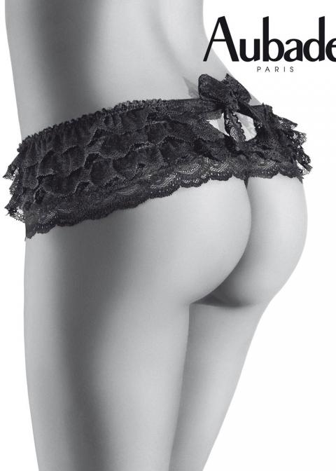 Culotte Frou-Frou Aubade Noir