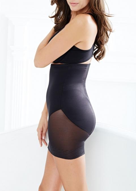 Jupe avec Culotte Intégrée Miraclesuit Shapewear Noir