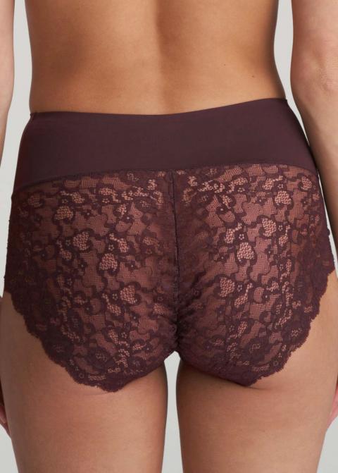 Slip Taille Haute Gainant Marie-Jo Aubergine