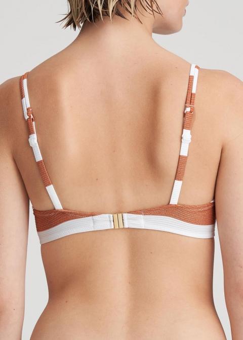 Bikini forme coeur rembourré Maillots de bain Marie Jo Swim Summer Copper