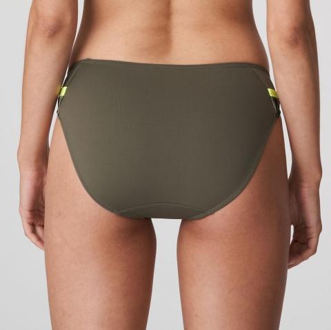 Slip Brésilien Maillots de Bain Prima Donna Swim Fluo Jungle