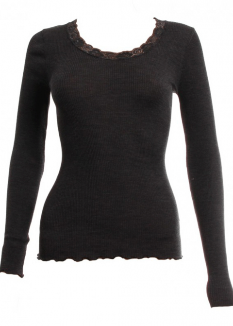 Tee-shirt Manches Longues Oscalito Noir