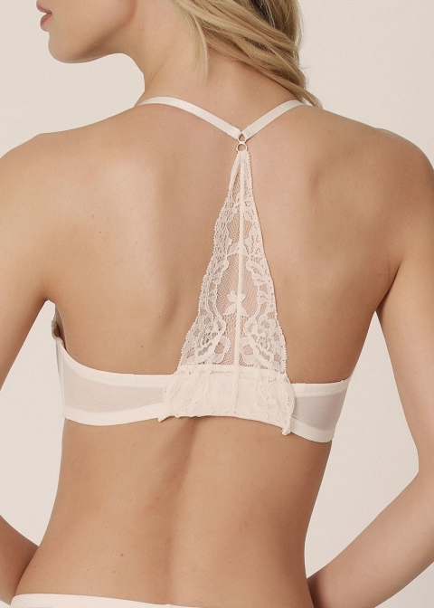 Soutien-gorge Bandeau Marie-Jo Pearled Ivory