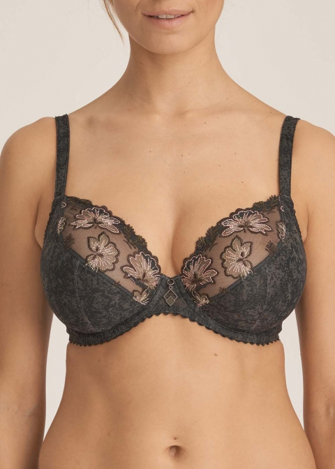Soutien-gorge Balconnet  Prima Donna Night Grey