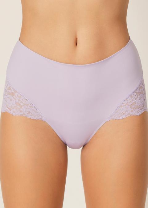 Slip Taille Haute Gainant Marie-Jo Lila Pastel