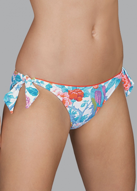 Slip Taille Basse Lacets Maillots de Bain Andres Sarda Light