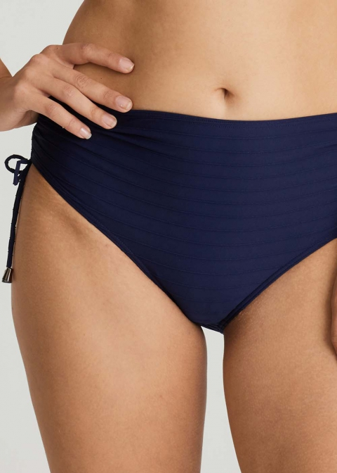 Slip Taille Haute Maillots de Bain Prima Donna Swim Bleu Saphire