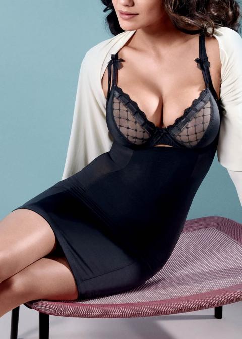 Robe Minceur Twist de Prima Donna Noir