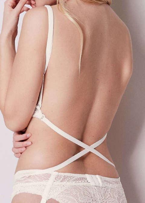 Soutien-gorge Push-Up Multiposition Simone Pérèle Naturel
