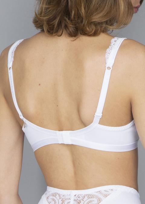 Soutien-gorge Sans Armatures Lejaby Blanc