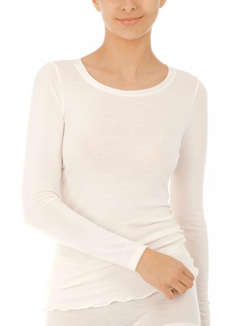 Tee-shirt Manches Longues Calida Cream White