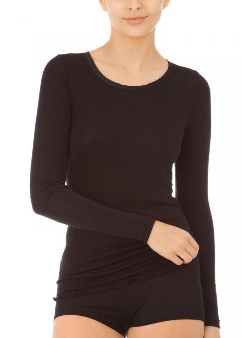 Tee-shirt Manches Longues Calida Noir