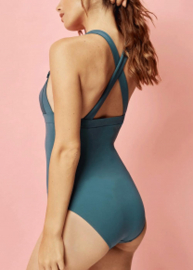 Eléa Bleu Paon lingerie 3579