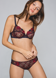 Check And Roses lingerie 34