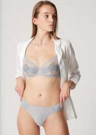 Attrape-Fleur Gris  lingerie 34