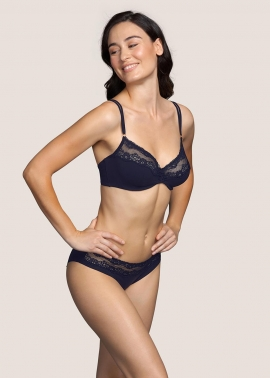 Verbier Night Blue lingerie