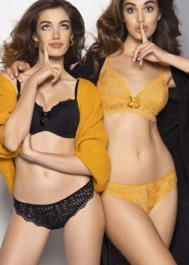 Onde Graphic lingerie